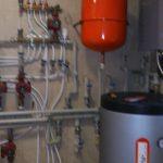 Отопление и ГВС тепловым насосом Prometheus PSA-15GE